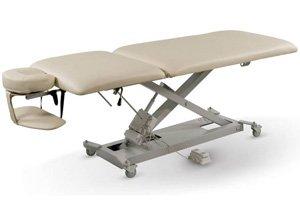 Liftback Powerlift Hydraulic Massage Table (Cream) (Hydraulic Massage Table compare prices)