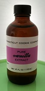 Connecticut Cookie Company Pure Vanilla Extract 4 oz