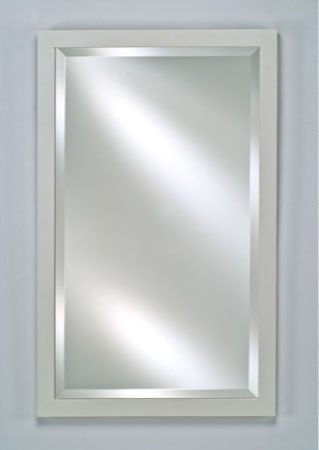 Medicine Cabinet / Mirror / Lights by Afina Corp - SD1622RBSXWT in Matte White