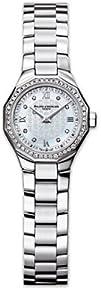 Baume   Mercier Womens 8522 Riviera Mini Diamond Watch
