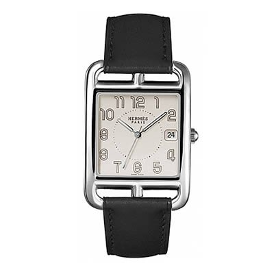 Hermes Cape Cod TGM Large Quartz Watch - 026089WW00