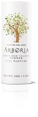 Scottish Fine Soaps Arboria 100g/3.5oz Perfumed Talcum Powder