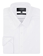 2in Shorter Limited Collection Slim Fit Poplin Shirt