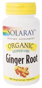 Отзывы Solaray - Organic Ginger Root, 100 capsules