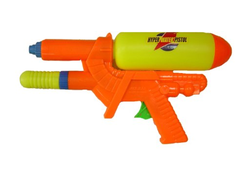 """12"""" Water Gun Hyper Water Pistol Squirt Gun - 1"""