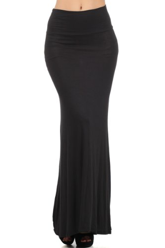 Fitted Maxi Skirt front-1059583
