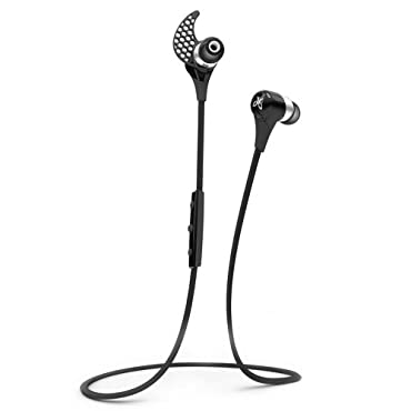 JayBird BlueBuds X Sport Bluetooth Headphones - Midnight Black