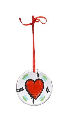 Kosta Boda Hearts Ornament