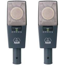 Akg C414/Xls-Stereo Stereo Matched Pair Of C414/Xls - Condenser Mics, 9-Pattern