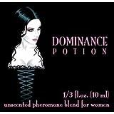 Love Potion®: Dominance Potion ~ UNscented Pheromone Blend for Women - 1/3 Fl.oz. (10ml)