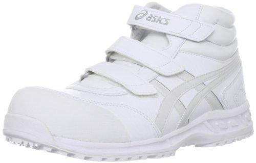 (アシックス)ASICS 安全靴ウィンジョブ53S FIS53S JP 25.0(25cm) ホワイト/パールホワイト