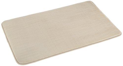 AmazonBasics - Scendibagno in memory foam, 46 x 71 cm, beige