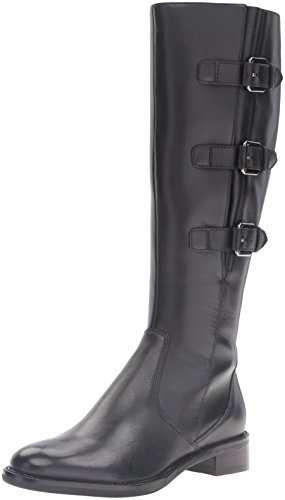 ECCO Women's Women's Hobart 25 mm Buckle Riding Boot, Black, 38 EU/7-7.5 M US (Ecco Women Shoes Boots compare prices)