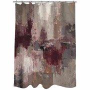 Thumbprintz Shower Curtain, Stone Gardens front-451093