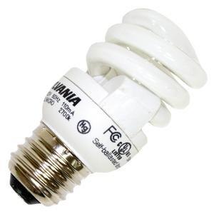 Sylvania - 29160 - 5 Watt Micro Mini Compact Fluorescent Bulb