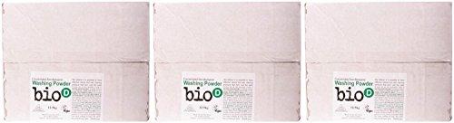 (3 PACK) - Bio-D Washing Powder | 12.5.kg | 3 PACK - SUPER SAVER - SAVE MONEY