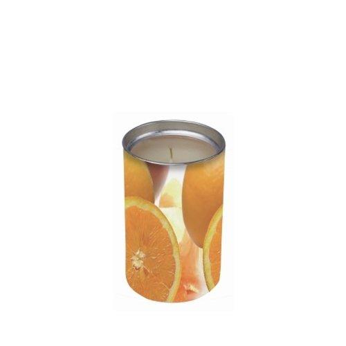 Price Candle SXL021042 - Candela profumata all'essenza di mandarino e zenzero, colore: Arancione