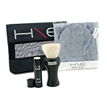 Jane Iredale H\E Minerals Kit: Lip Balm Spf 15 + Facial Brush + Wash Glove + Bag 3Pcs+1Bag
