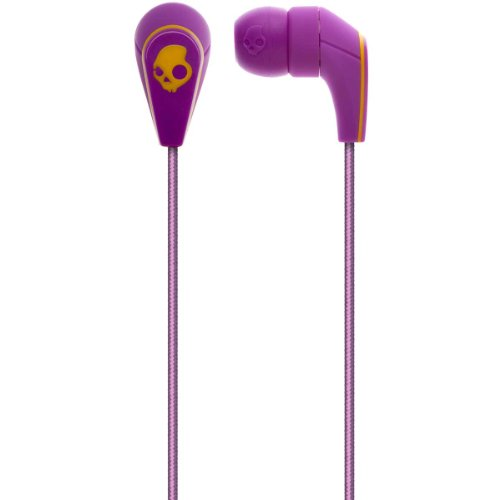 Skullcandy 50/50 Ear Buds With Mic3 - 2011 Purple (2011 Color), One Size