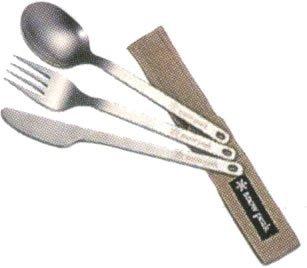 Snow Peak Titanium Silverware Cutlery Set (3-Piece) by Snow Peak (Snow Peak Silverware compare prices)
