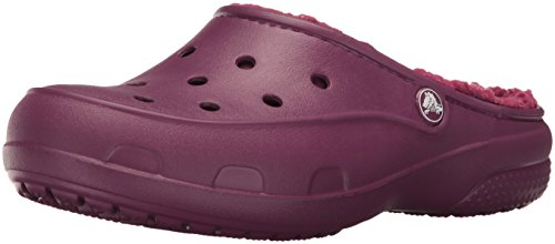 Crocs Freesail Plushlined W, Pantofole a Collo Basso Donna, Viola, 38/39 EU