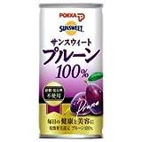 ポッカ サンスウィート プルーン100%160g缶×30本入 ランキングお取り寄せ