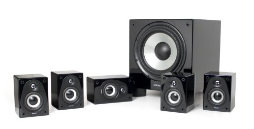 Energy Rc-Micro 5.1 Surround Speaker System (Black)