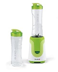 Breville Blend-Active Personal Blender - 300 Watt - White/Green