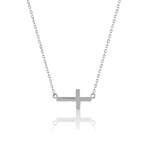 sterling-silver-14-2-extension-small-sideways-cross-childrens-first-communion-necklace