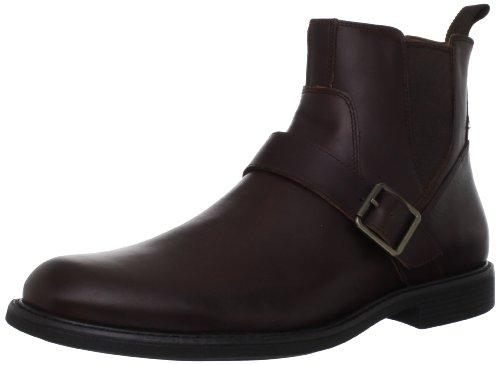 Johnston & Murphy Men's Cardell Buckle Boot,Oak Full Grain,10.5 M US