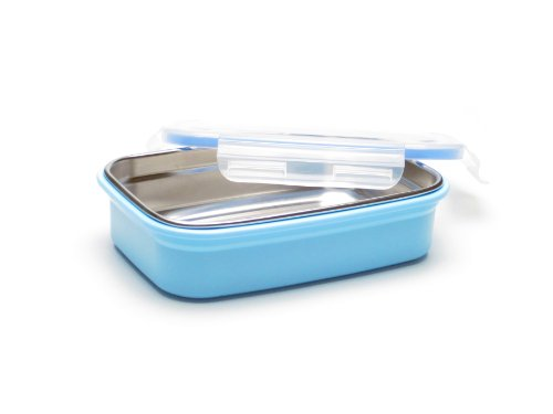 Steeltainer Leak-proof Stainless Steel Full Size Container (Blue)