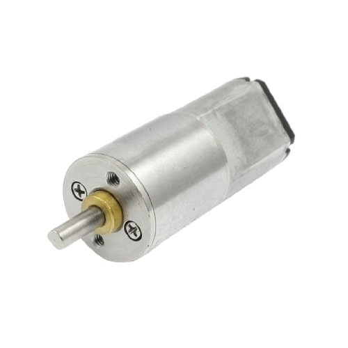 6RPM DC 6V 0.45A High Torque Mini Electric Geared Gearbox Motor from Amico