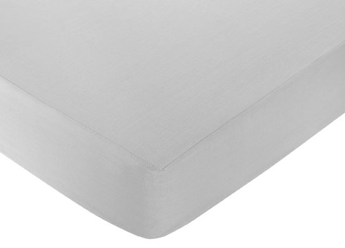 Fitted Crib Sheet For White And Gray Hotel Baby/Toddler Bedding By Sweet Jojo Designs - Gray front-227851