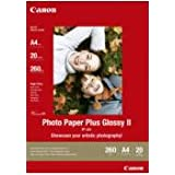 Canon Original  PP-201A4 Bubblejet Media Photo Paper A4 20SHby Canon