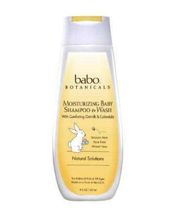 Babo Botanicals Oatmilk Calendula Moisturizing Baby Shampoo front-987982