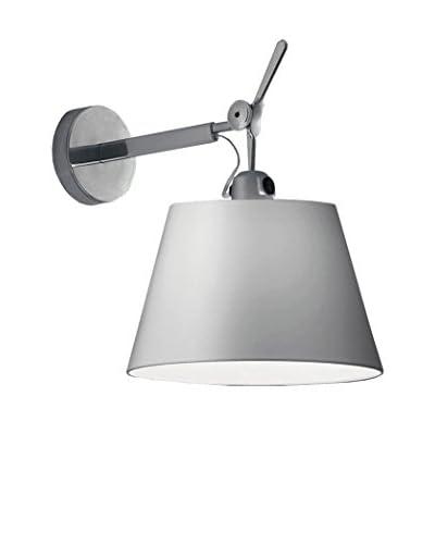 Artemide Tolomeo Lámpara De Pared Aluminio Ø 24 H 35,2 P 36,8 cm