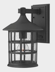 """Hinkley Lighting 1804-Led 12.25"""" Height Led Outdoor Lantern Wall Sconce From The, Black"""