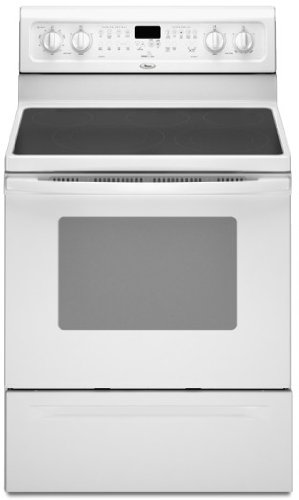 Whirlpool : GFE461LVQ 30 Freestanding Electric Range White