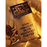 16oz Wallenford Blue 100 Jamaica Blue Mountain Whole Beans Coffee