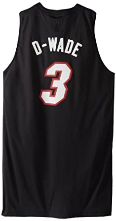 Buy NBA Miami Heat Dwyane Wade Black Swingman Jersey by adidas