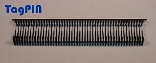 Kunststofffäden standard tagPin 10.000 fils de reliure 15 mm (noir)