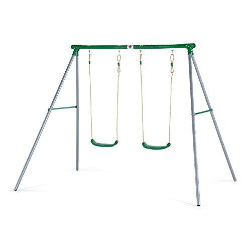 Plum Products® Sedna - Set altalena in metallo da giardino
