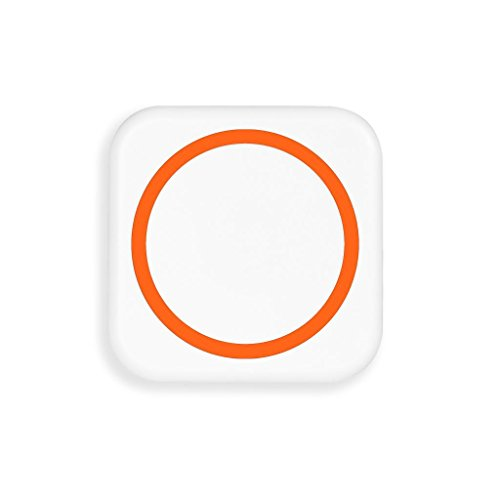 Wireless Charging Pad For Samsung Galaxy S5 ,Jokeret Portable Wireless Charger Power Bank With Receiver White And Orange