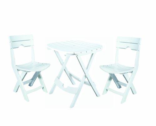 White Resin Folding Chair 6331