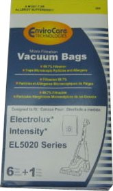 Electrolux Intensity EL5020 EnviroCare Vacuum Cleaner Bags / 6 pack + 1 motor filter - Generic (Generic Vacuum Bags compare prices)