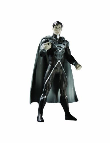 DC Direct Blackest Night: Series 7: Black Lantern Superman Action Figure