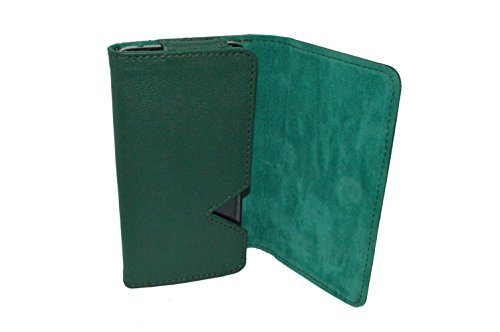 TOTTA PU Leather Wallet Pouch For XOLO Era -GREEN