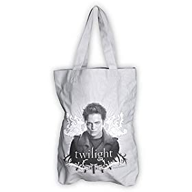 Official Twilight Movie Canvas Edward Tote Bag