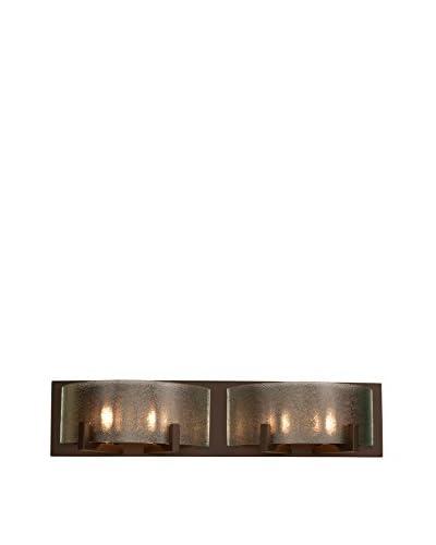 Alternating Current 4-Light Firefly Bath, Warm Bronze