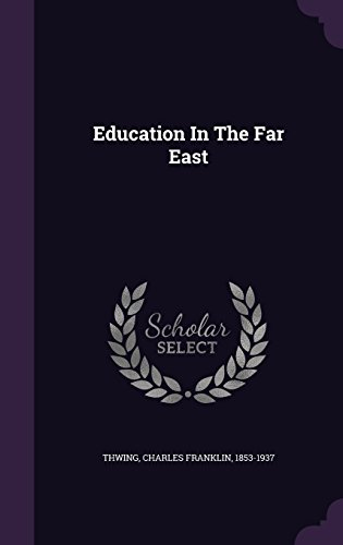 Education In The Far East